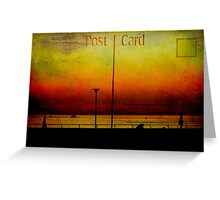 Post Card Greeting Card