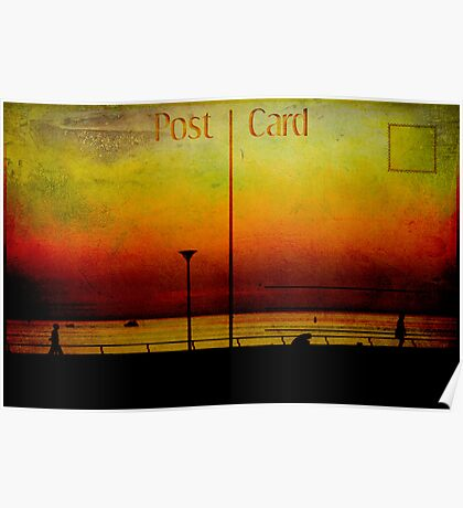Post Card Poster