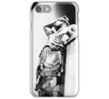 Resting Statue iPhone Case/Skin