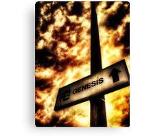 A Sign of Biblical Proportions Canvas Print