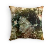Self Portrait as Preraphaelite sprite or some-such ethereal creature Throw Pillow