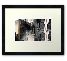 crashed id Framed Print