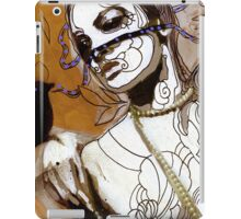 pearl necklace iPad Case/Skin
