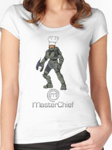 MasterChief.....Chef Women's Fitted Scoop T-Shirt