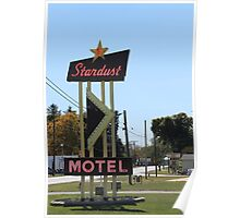 Stardust Motel, Darke County Ohio, USA Poster