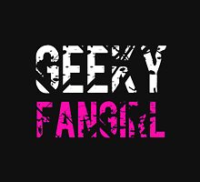 Geeky Fangirl Womens Fitted T-Shirt
