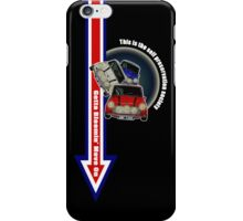 Put Your Foot Down... iPhone Case/Skin