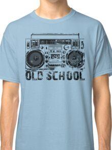 Old School Boombox Art Classic T-Shirt