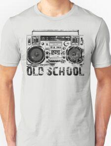 Old School Boombox Art Unisex T-Shirt