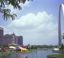 VP Fair at the Gateway Arch, Downtown St. Louis - (1986) by Dwaynep2010