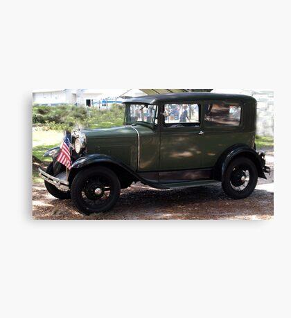 When Cars Were Cars Canvas Print