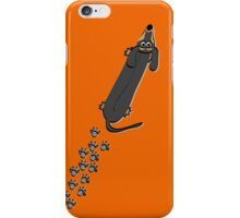 Walked on by a Dachshund iPhone Case/Skin