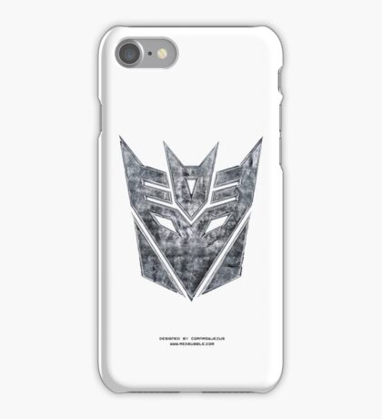 Decepticon v2 iPhone Case/Skin