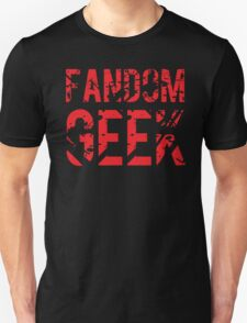 Fandom Geek T-Shirt