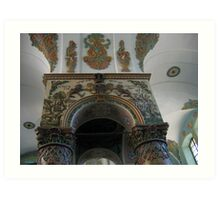 Lancut Synagogue Art Print