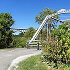 Station Rd. Bridge by Linda Gleisser