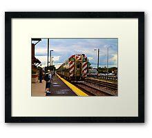Going Home Framed Print