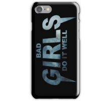 HIPSTER : BAD GIRLS DO IT WELL // iPhone Case/Skin