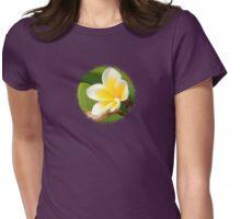 Plumeria  - JUSTART ©  Womens Fitted T-Shirt