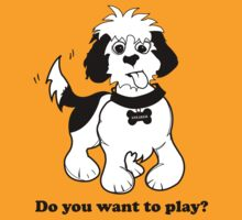 "Sneaker the Dog - ""Do You want to Play?"" by strummerblue"