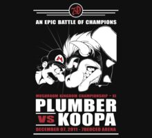 Plumber vs Koopa by eyenod