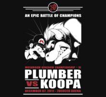 Plumber vs Koopa by eyenod
