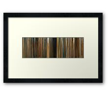 Moviebarcode: The Darjeeling Limited (2007) Framed Print