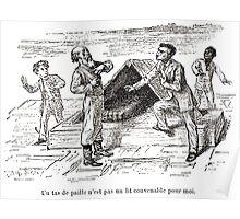 Achille Sirouy Mark Twain Les Aventures de Huck Huckleberry Finn illustration p145 Poster