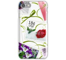 Floral Stamps (iPhone case) iPhone Case/Skin