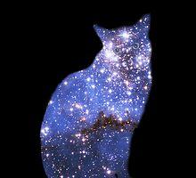 Star Cat Zafira - iPhone case by Odille Esmonde-Morgan