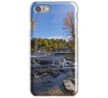 Waterfalls in fall iPhone Case/Skin