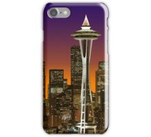 The Glow Of Seattle iPhone case. iPhone Case/Skin
