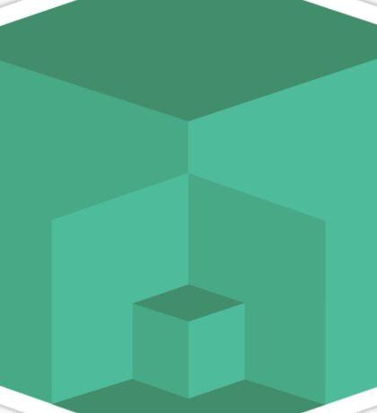 Cube Inception Sticker