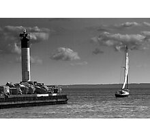 Sailing on Lake Ontario Photographic Print