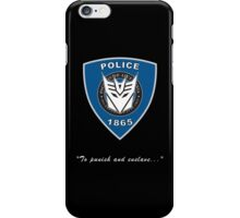 Transformers - Police iPhone Case/Skin