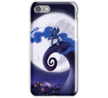 My Little Pony - MLP - Nightmare Before Christmas - Princess Luna's Lament iPhone Case/Skin