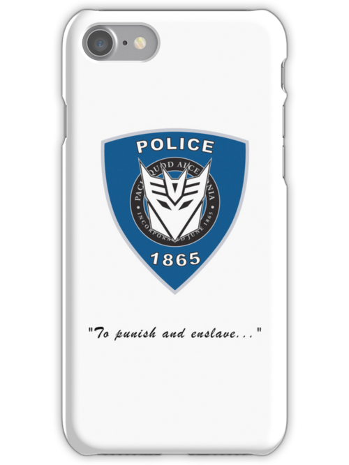Transformers - Police by Jason Fitzsimmons