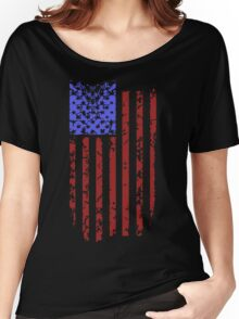 American Flag Women's Relaxed Fit T-Shirt