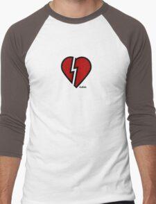 HRTBRKR Men's Baseball ¾ T-Shirt