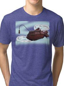 Steampunk Angler Fish Tri-blend T-Shirt