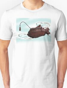 Steampunk Angler Fish Unisex T-Shirt