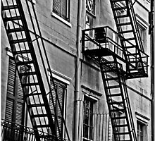 Fire Escapes by Chet  King