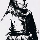 Unidentified Native American by BarbBarcikKeith