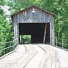 Covered Bridge by Tracey Hampton