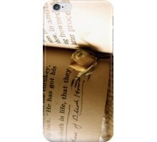 Pickwick iPhone Case/Skin