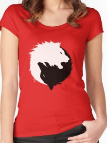 The Wolf and The Lion Women's Fitted Scoop T-Shirt