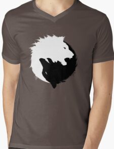 The Wolf and The Lion Mens V-Neck T-Shirt