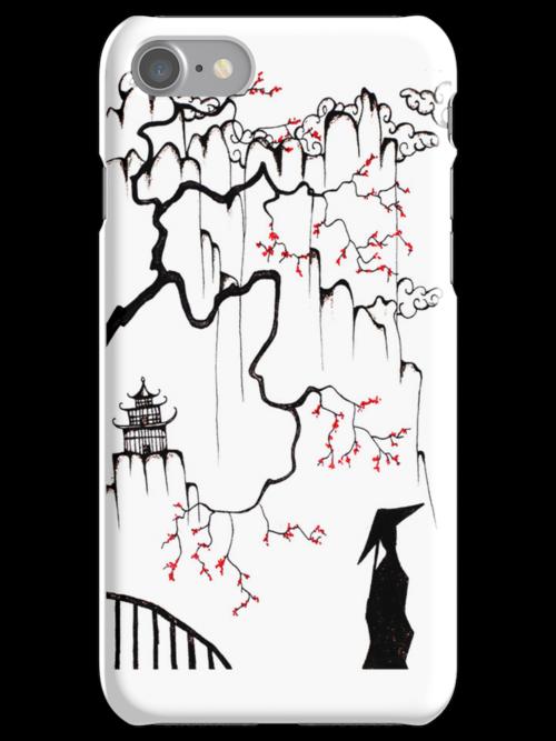 Geisha I Phone Case by ogfx