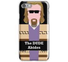 "Jeff ""the Dude"" Lebowski iPhone Case/Skin"