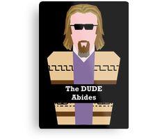 "Jeff ""the Dude"" Lebowski Metal Print"